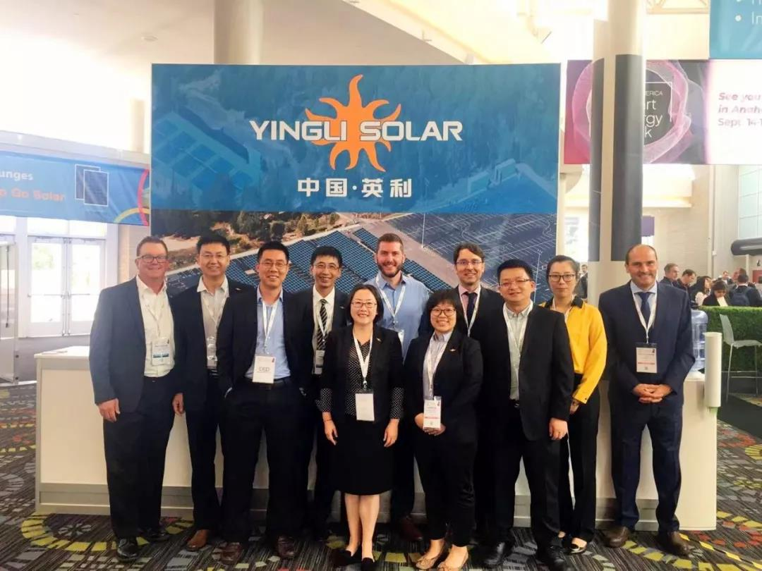 Yingli Solar Is Represented Solar Power International Conference